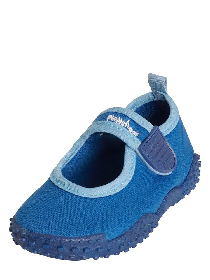 Playshoes Buty kąpielowe w kolorze niebieskim
