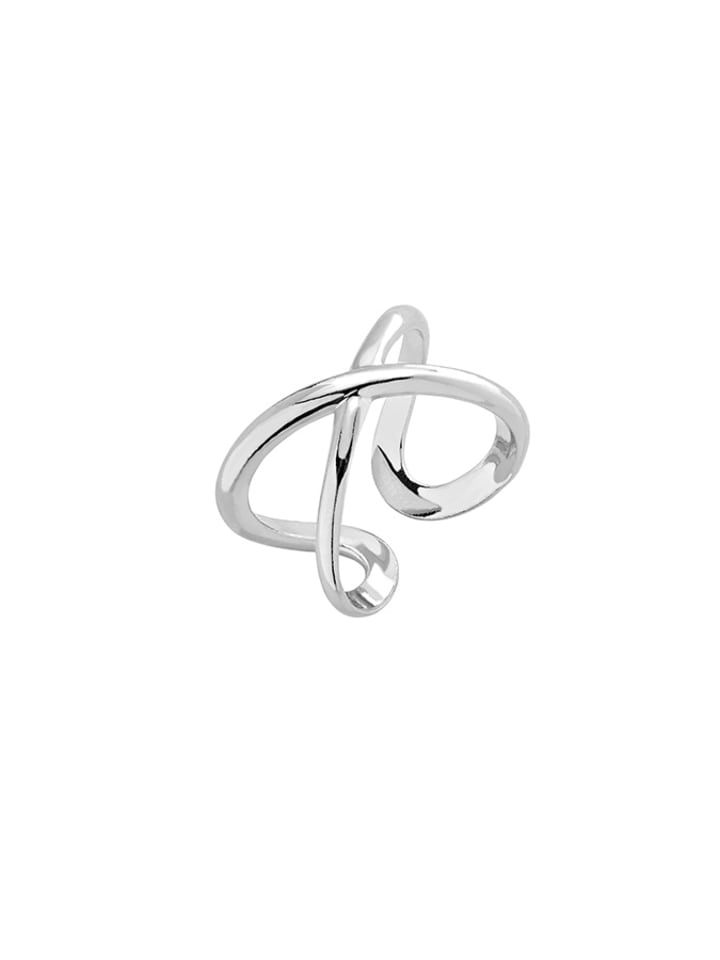 Alicja&Maria Srebrny pierścionek