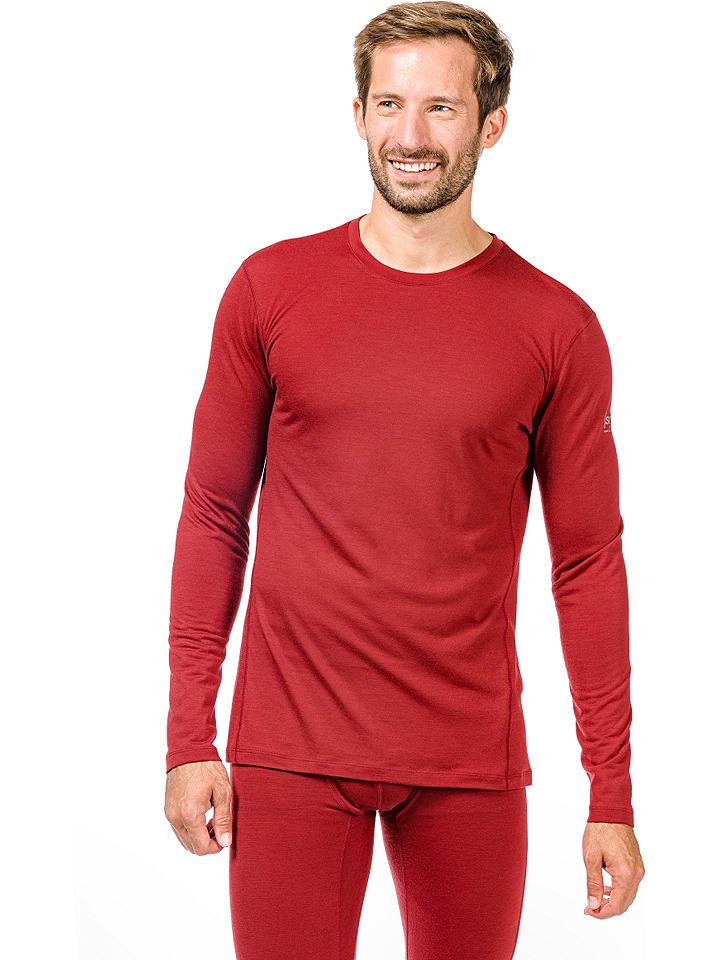 Super.natural Functioneel onderhemd rood