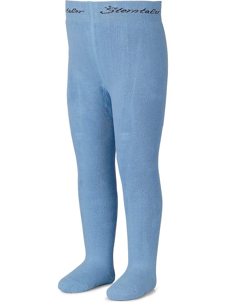 Sterntaler Rajstopy w kolorze niebieskim