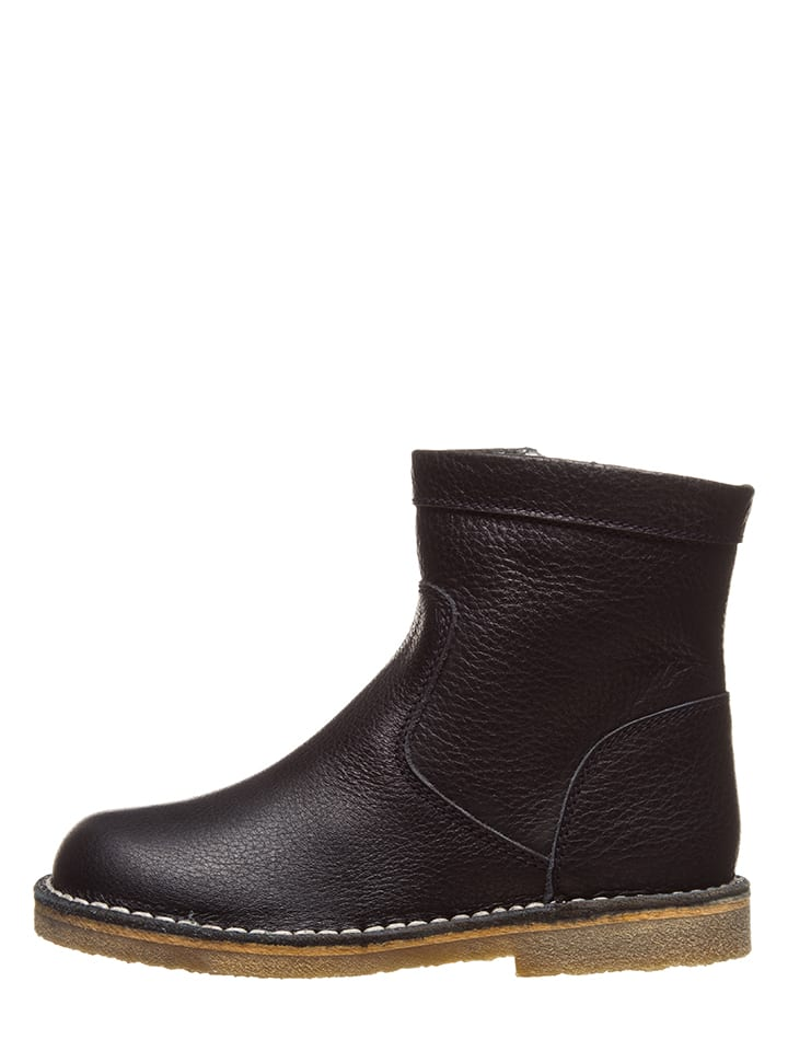 "Leder-Boots ""Cibella"" in Schwarz"
