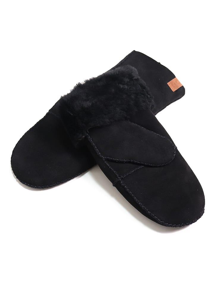 Kaiser Naturfellprodukte H&L Rękawiczki w kolorze czarnym