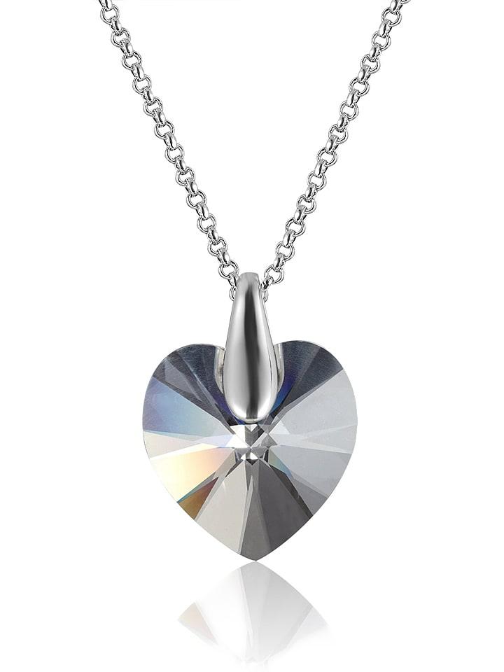 METROPOLITAN Ketting met Swarovski-kristal - (L)39 cm