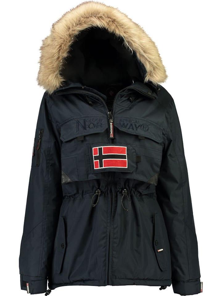 "Geographical Norway Winterjacke ""Bantouna"" in Dunkelblau"