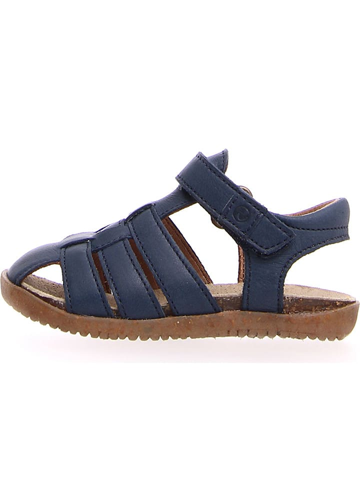 Naturino Leren sandalen donkerblauw