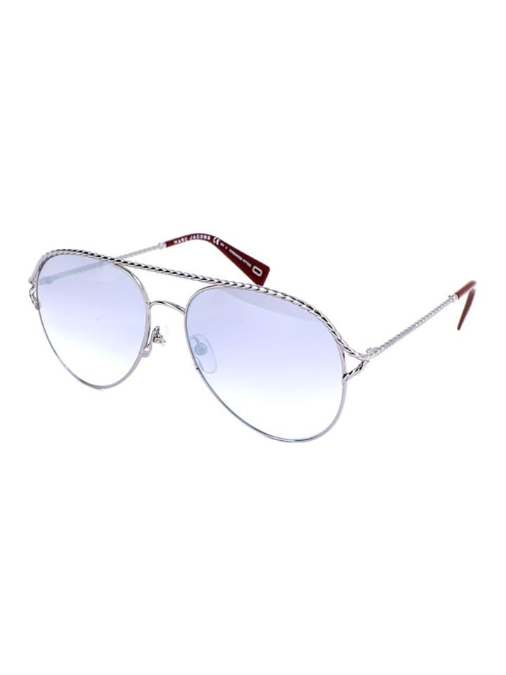 Marc Jacobs Damen-Sonnenbrille in Silber/ Lila