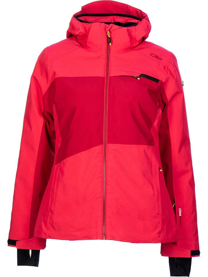 CMP Kurtka narciarska w kolorze czerwonym