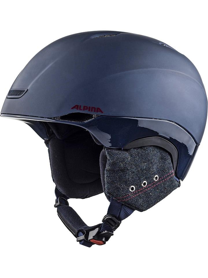 "Alpina Uniseksski-/snowboardhelm ""Parsena"" donkerblauw"
