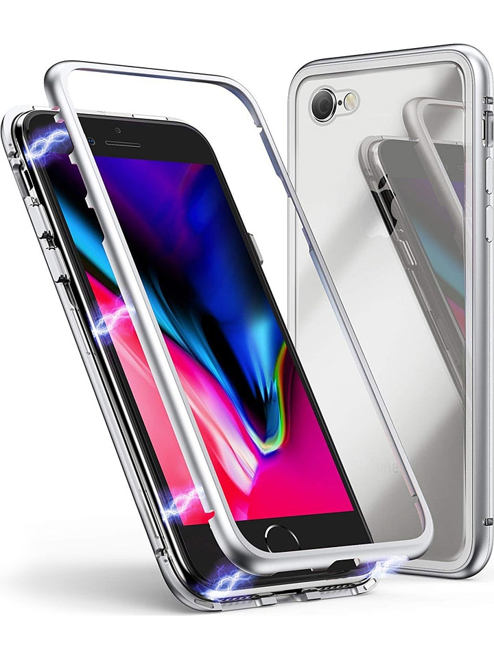 SmartCase Fullbody case w kolorze srebrnym do iPhone 6/6S