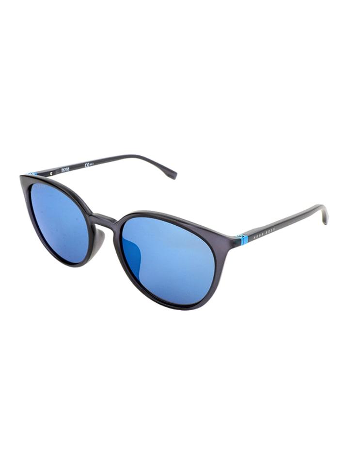 Hugo Boss Dameszonnebril blauw
