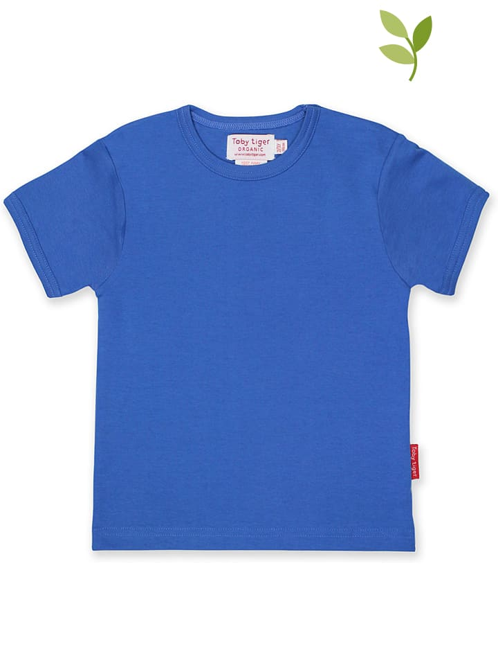 Toby Tiger Koszulka w kolorze niebieskim