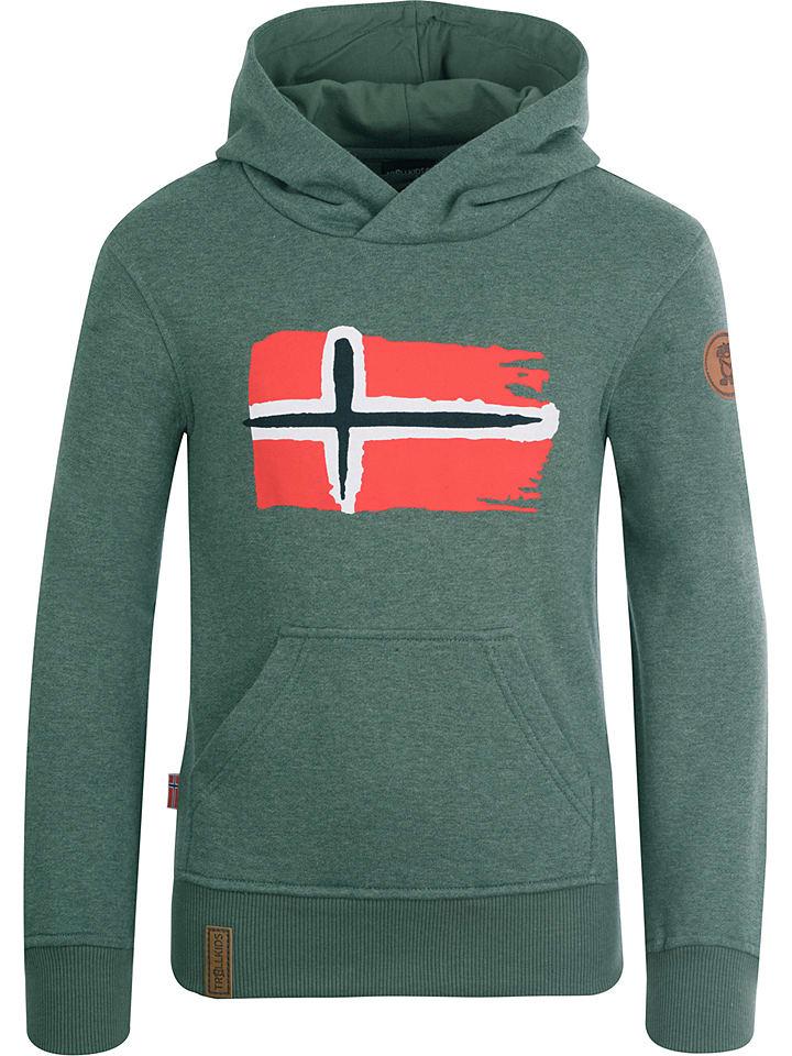 "Trollkids Sweatshirt ""Trondheim"" groen"