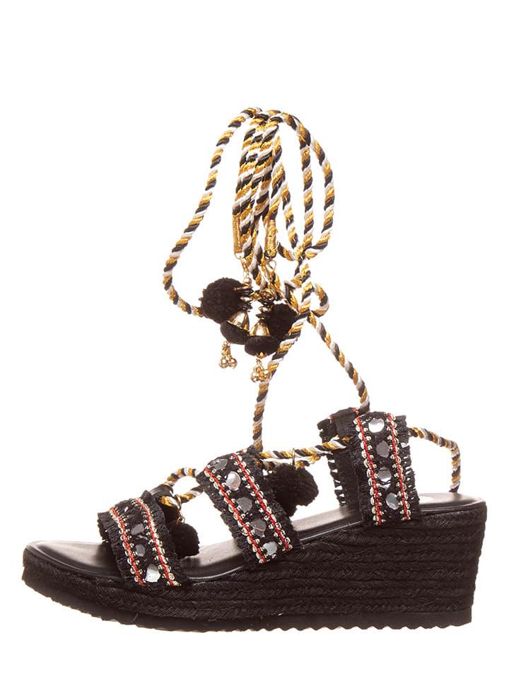 Gioseppo Leren sandalen zwart
