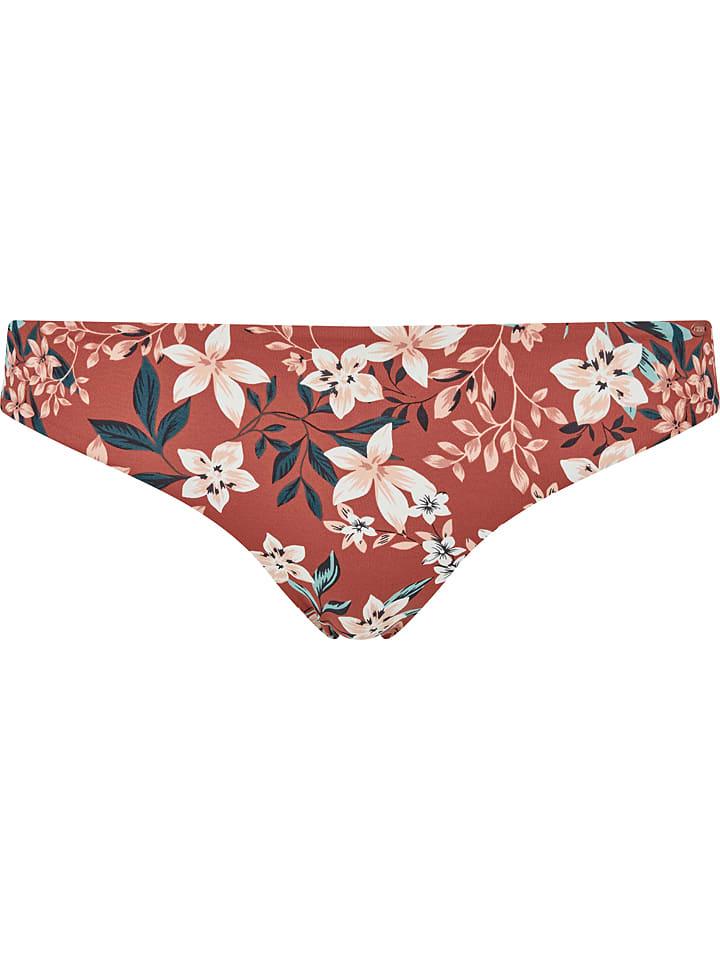 Skiny Bikini-Hose in Rot/ Bunt