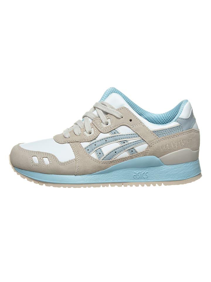 """Asics Sneakers """"Gel Lyte III"""" wit/beige"""