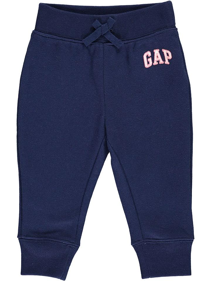 GAP Spodnie dresowe w kolorze granatowym