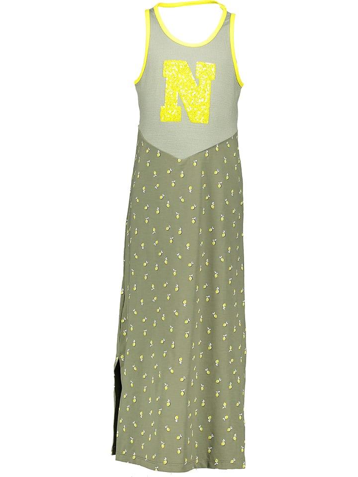"NONO Kleid ""Menuo"" in Khaki/ Gelb"