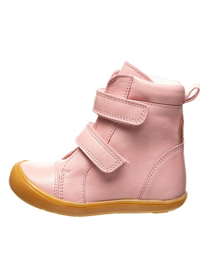 BO-BELL Leder-Boots in Rosa