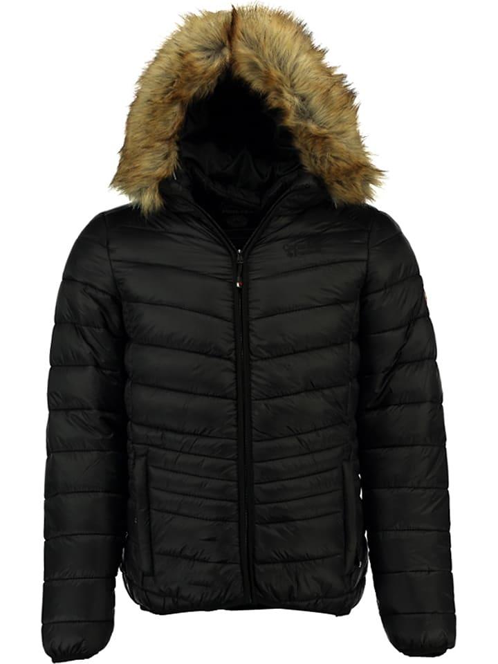 """Canadian Peak Winterjacke """"Dascout"""" in Schwarz"""