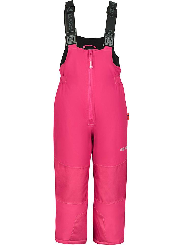 """Trollkids Spodnie narciarskie """"Telemark"""" w kolorze jagodowym"""