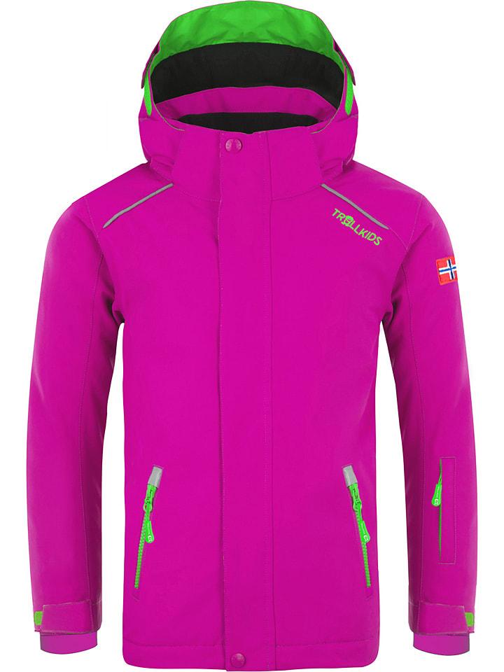 """Trollkids Ski-/ Snowboardjacke """"Holmenkollen Pro"""" in Pink"""