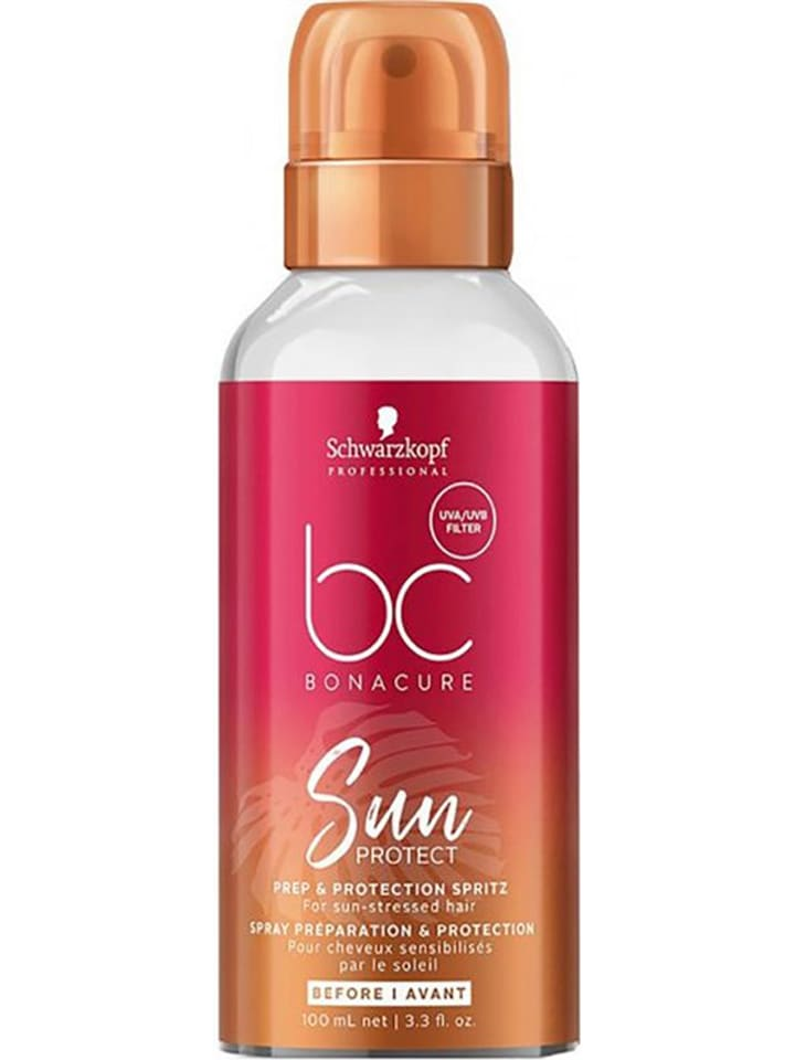 """Schwarzkopf Professional Leave-in conditioner """"BC Sun Prep and Protection Spritz"""", 100 ml"""