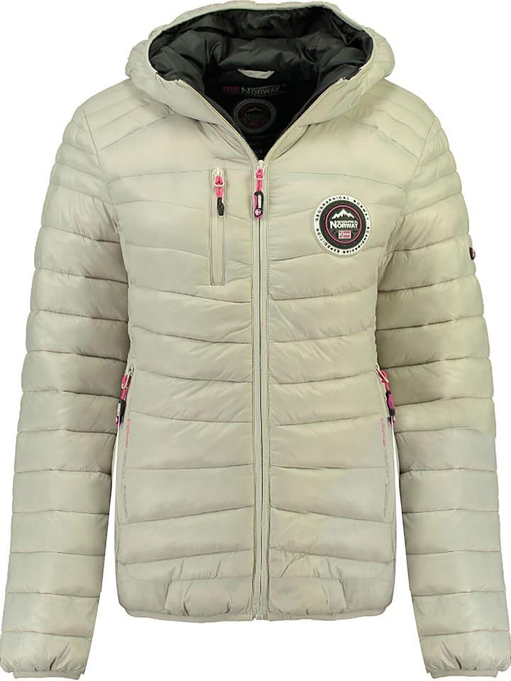 """Geographical Norway Tussenjas """"Bambway"""" crème"""