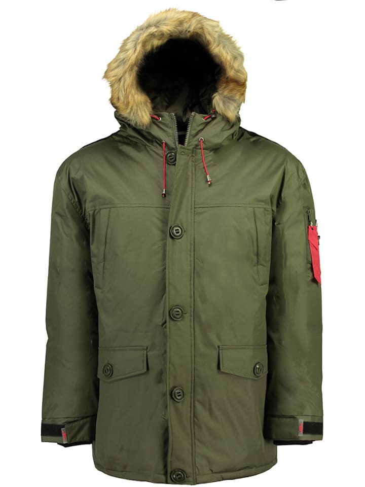 "Canadian Peak Winterjacke ""Antidote"" in Khaki"