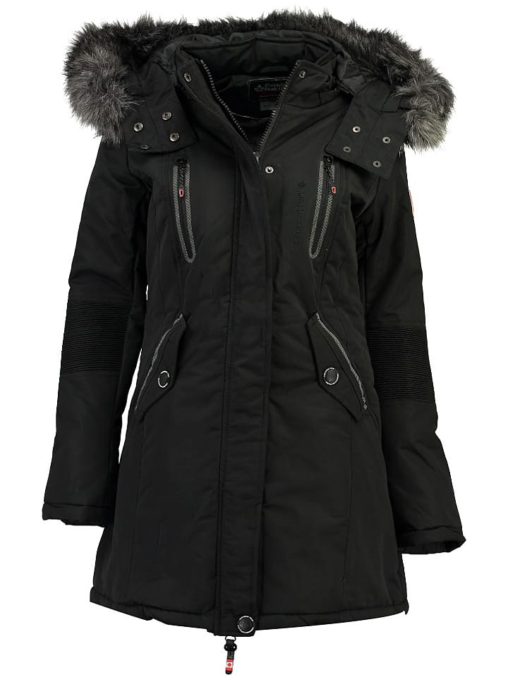 "Canadian Peak Parka ""Camilly"" in Schwarz"