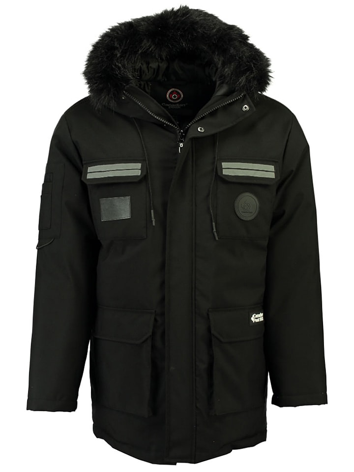 "Canadian Peak Winterjas ""Batneak"" zwart"