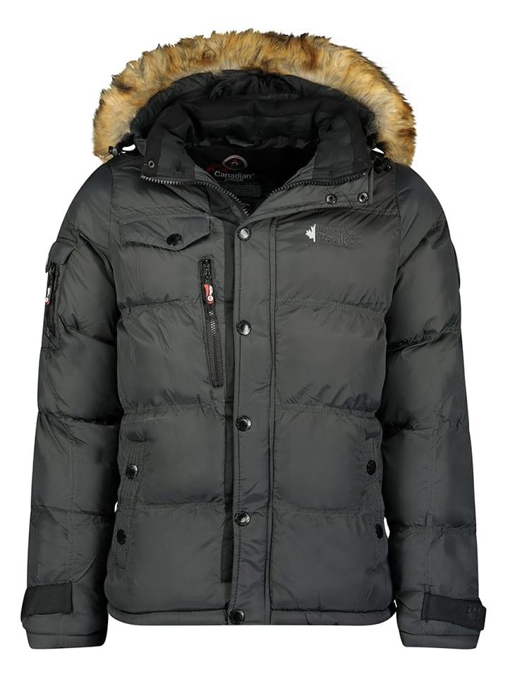"Canadian Peak Winterjacke ""Bukkateak"" in Dunkelgrau"