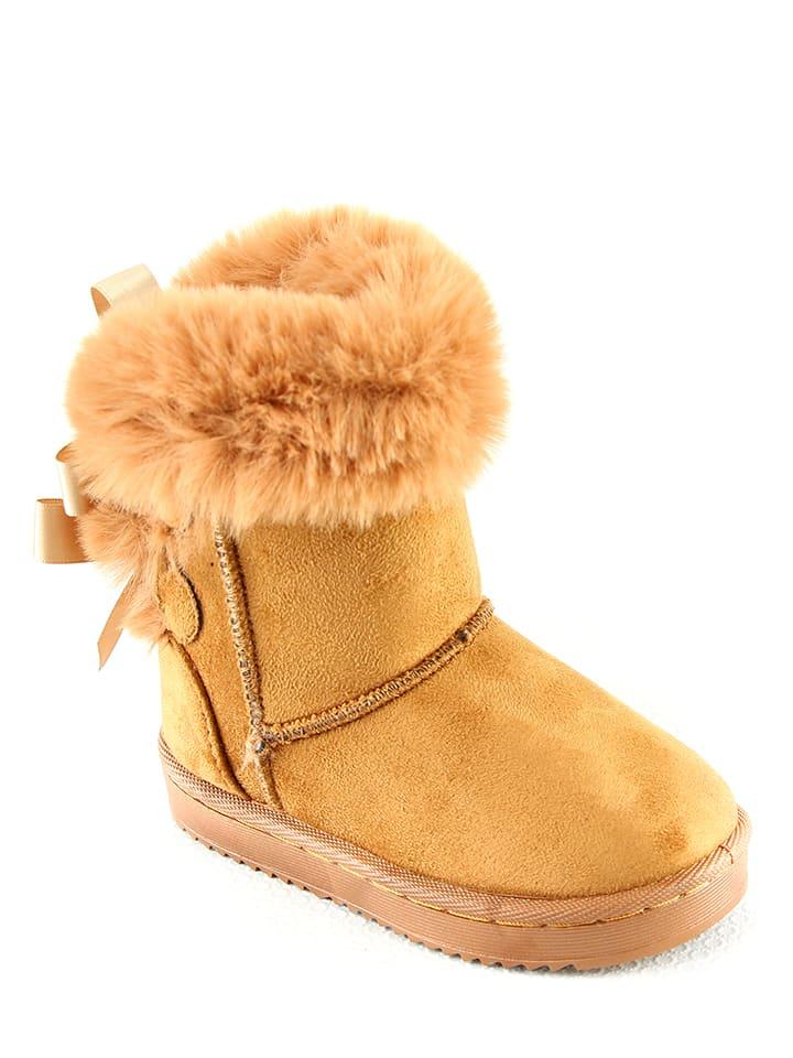 Winterboots camel