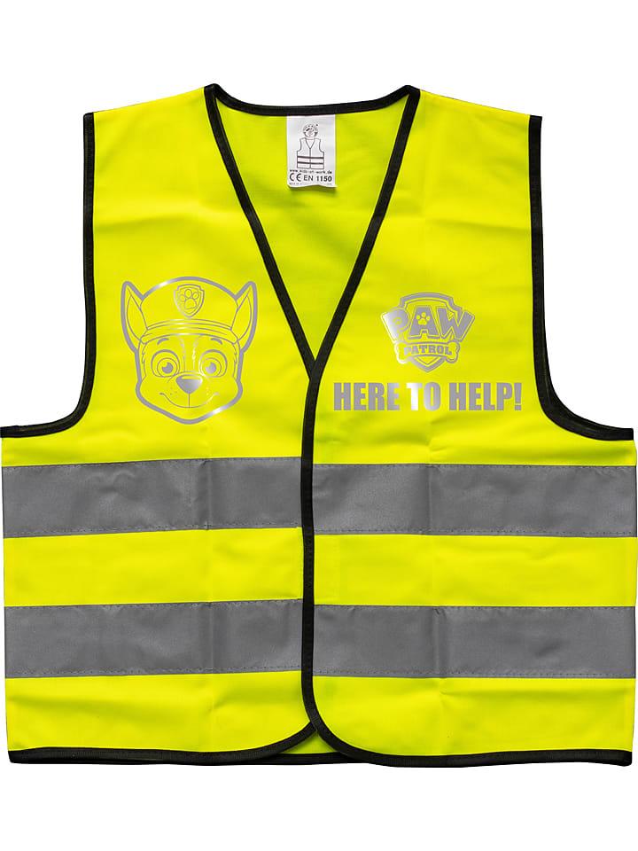 """Kamizelka """"Paw Patrol"""" w kolorze żółtym - 4+"""
