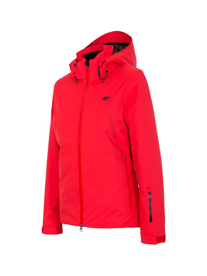4F Ski-/snowboardjas rood