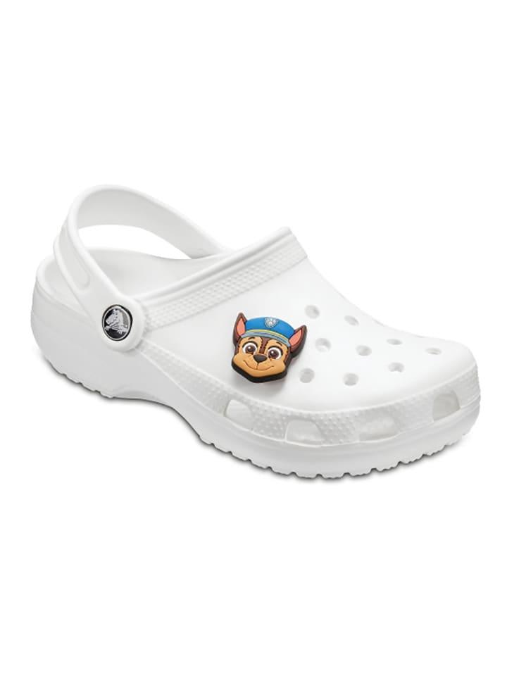 """Kolorowa przypinka """"Paw Patrol Chase"""" ze wzorem na buty"""