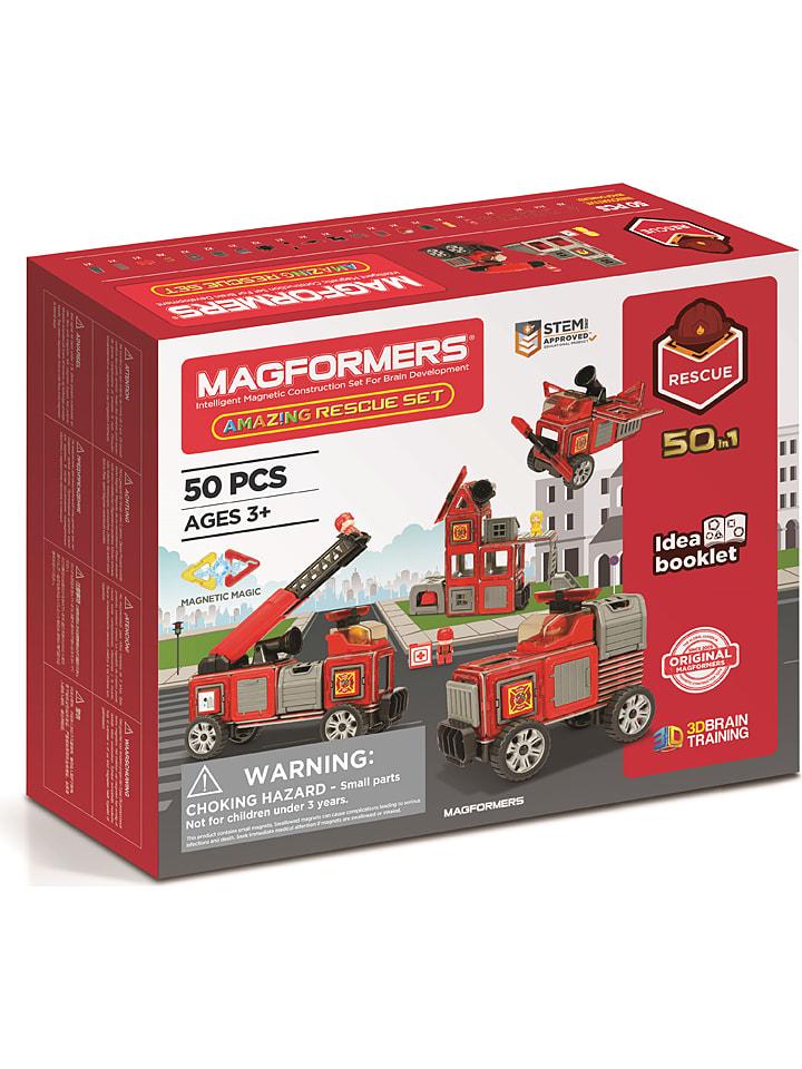 """MAGFORMERS 50-delige magneetspeelset """"Amazing Rescue Set"""" - vanaf 3 jaar"""