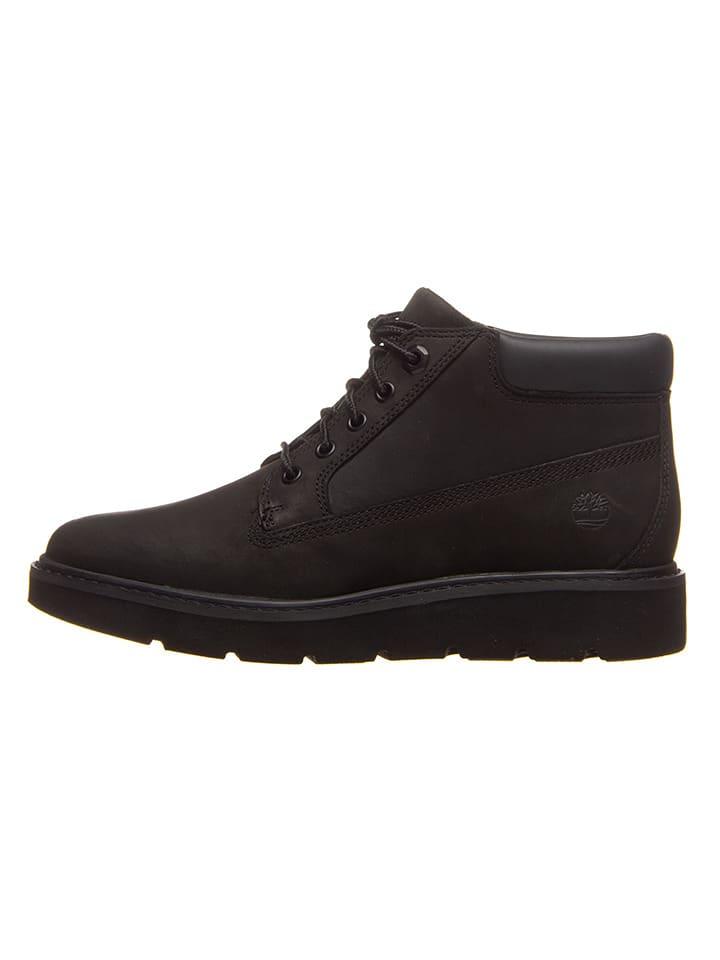 """Timberland Skórzane sneakersy """"Kenniston Nellie"""" w kolorze czarnym"""