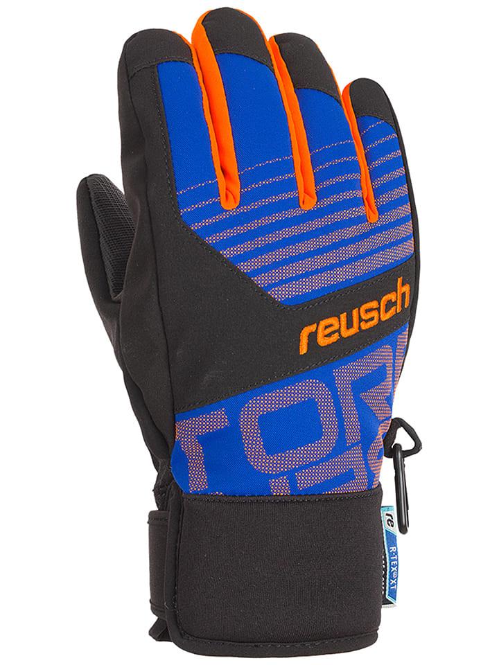 """Reusch Ski-/ Snowboardhandschuhe """"Torbenius R-TEX® XT Junior"""" in Blau/ Schwarz"""