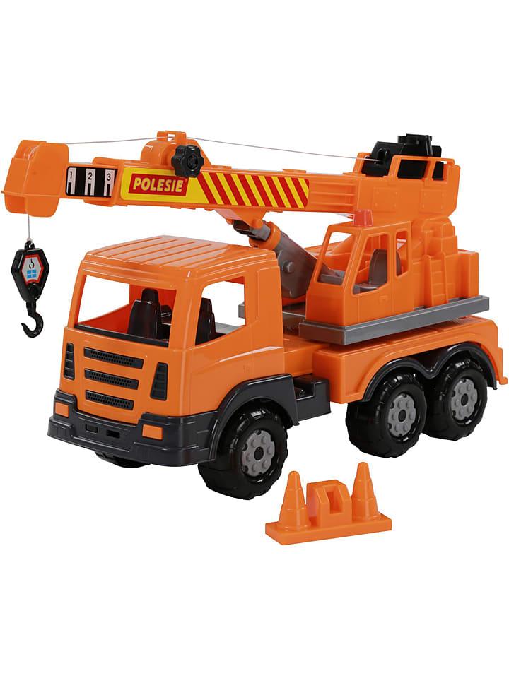 Ciężarówka-dźwig - 3+