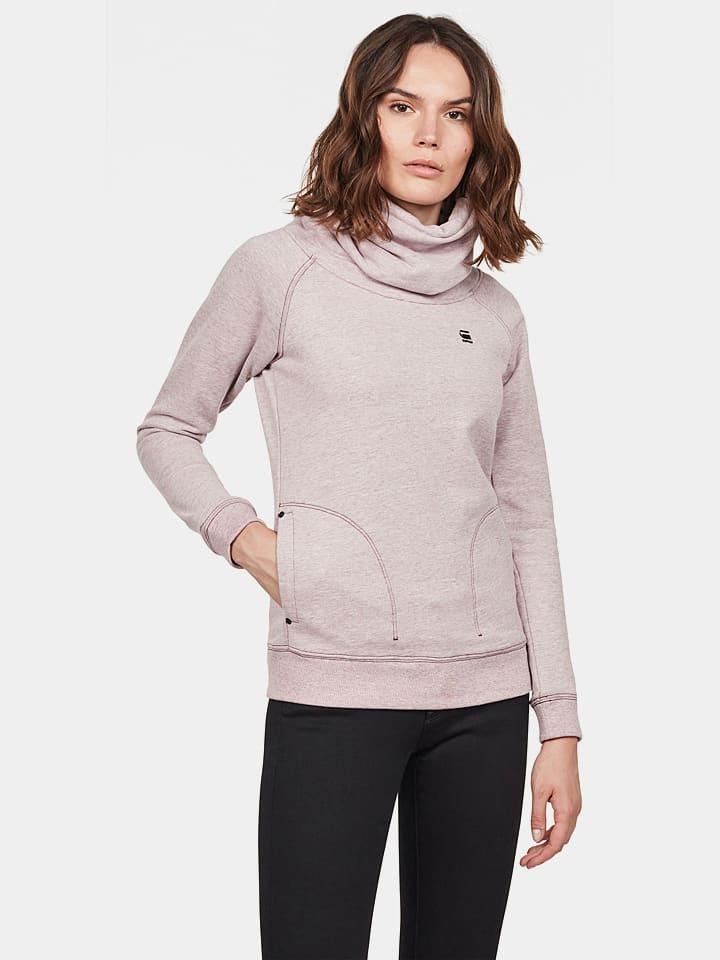 G-Star Bluza w kolorze jasnoróżowym