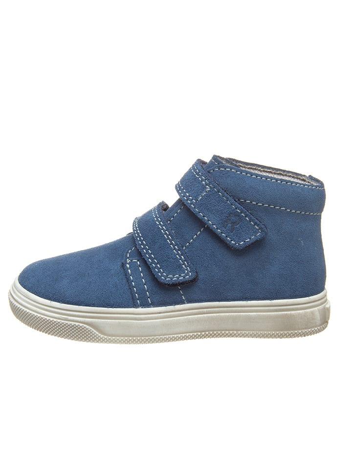 Richter Shoes Leren sneakers blauw
