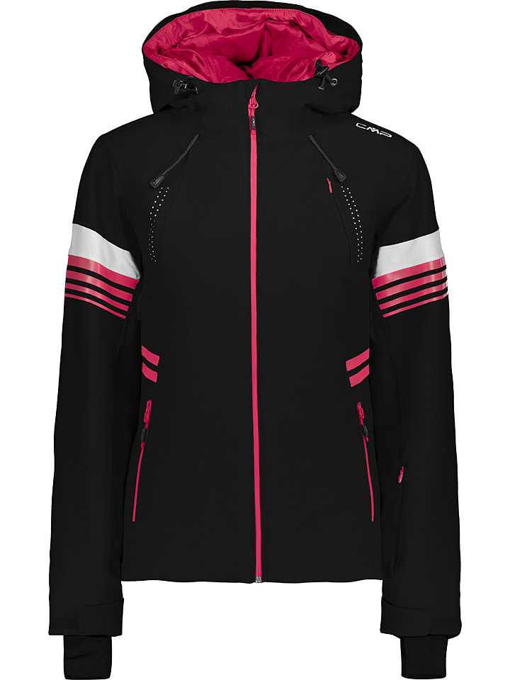 CMP Kurtka narciarska w kolorze czarno-różowym