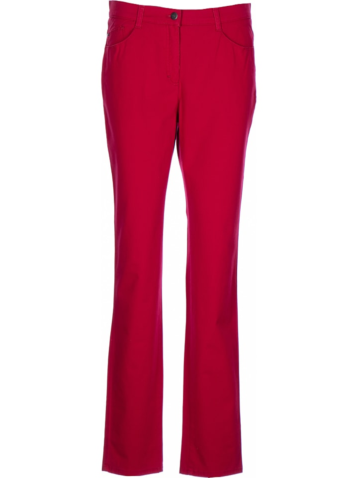 "BRAX Hose ""Mary"" - Regular fit - in Rot"