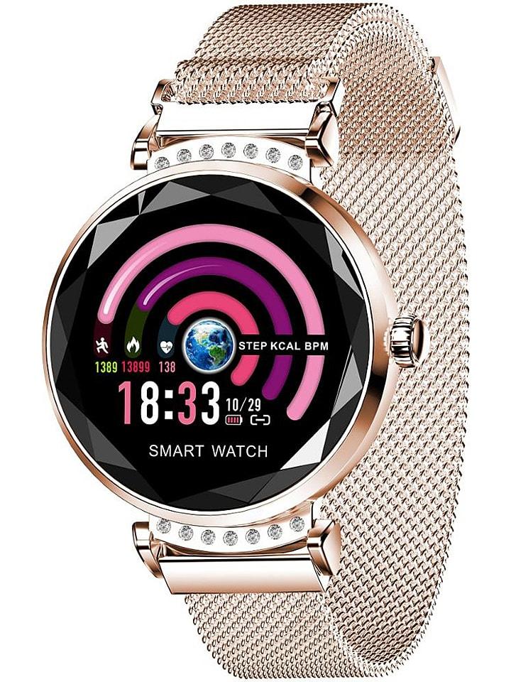 SmartCase Smartwatch w kolorze złotym