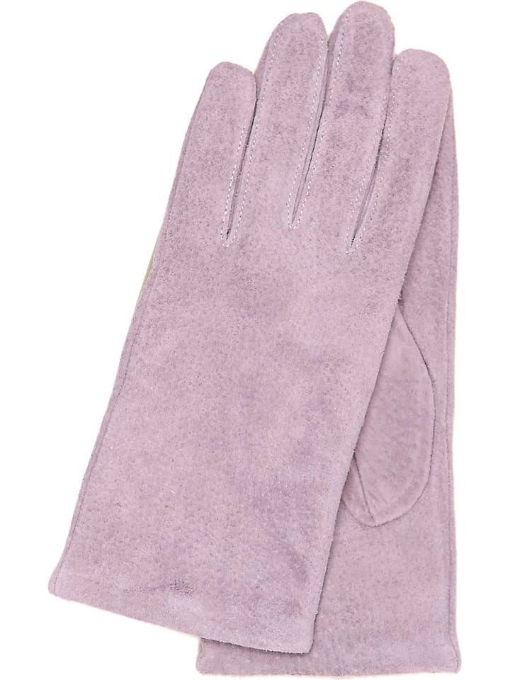 """Gretchen Skórzane rękawiczki """"Athen"""" w kolorze lawendowym"""