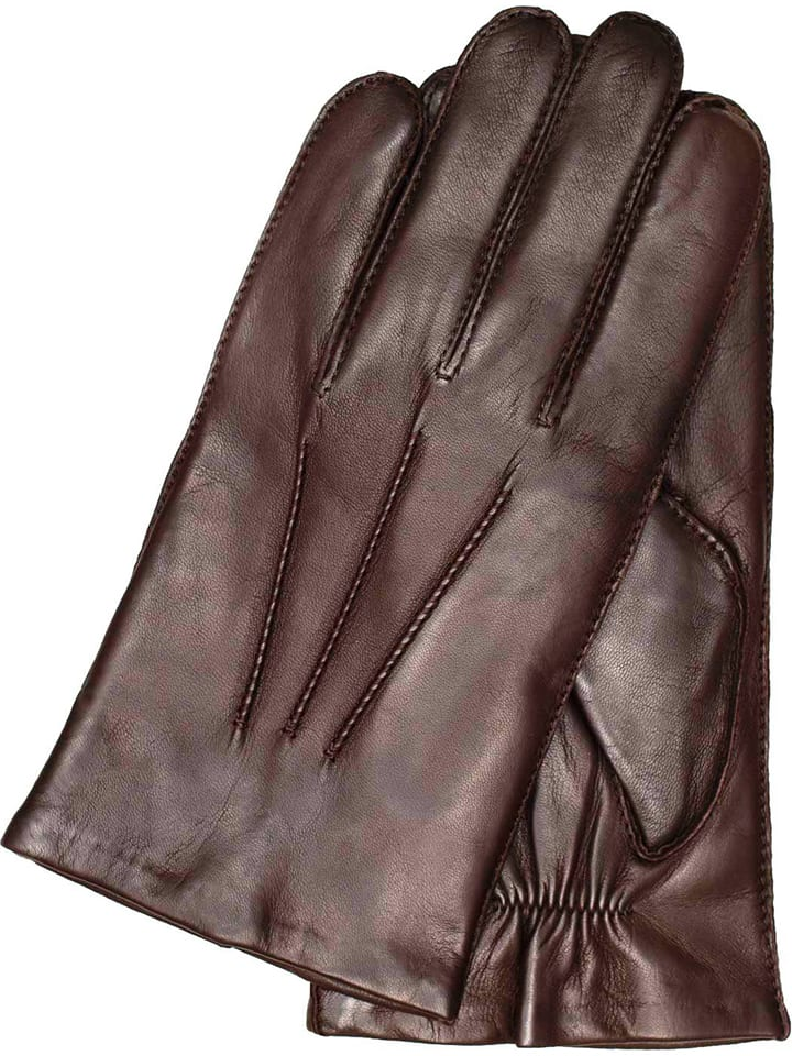 """Gretchen Skórzane rękawiczki """"Genf"""" w kolorze brązowym"""