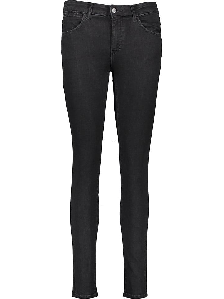 Wrangler Dżinsy - Skinny fit - w kolorze czarnym