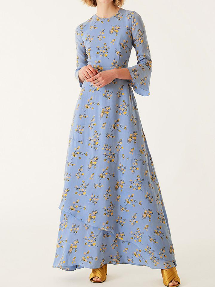 Ivy Oak Robe Bleu Clair Fantaisie Achetez A Bas Prix Limango