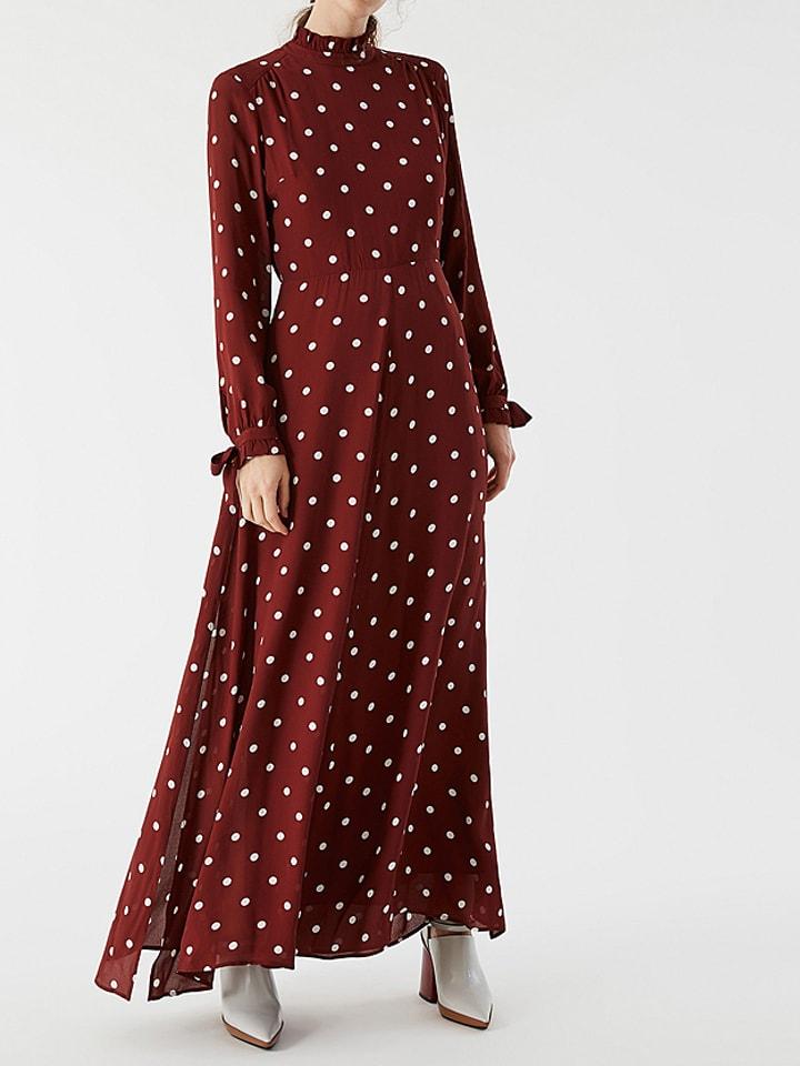 IVY & OAK Kleid in Dunkelrot/ Weiß günstig kaufen | limango