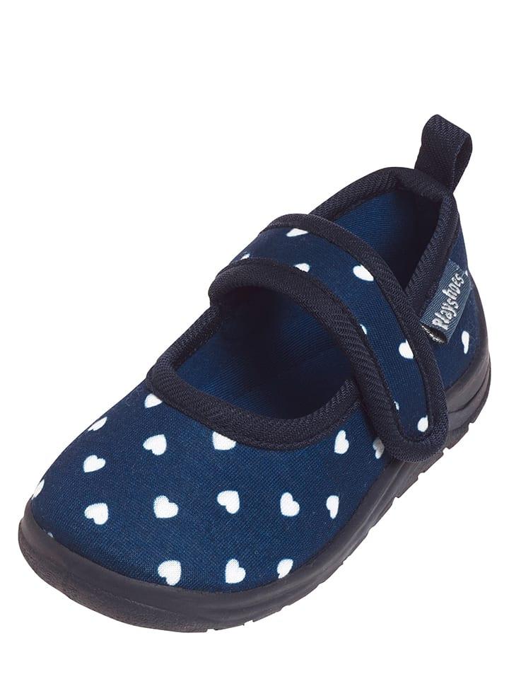 Playshoes Kapcie w kolorze granatowym